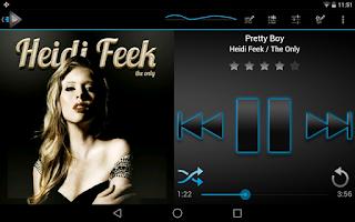 Screenshot of Classic Blue Theme