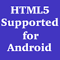 HTML5 Supported for Android icon
