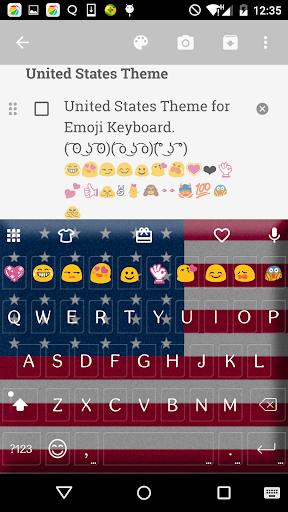 United States Keyboard