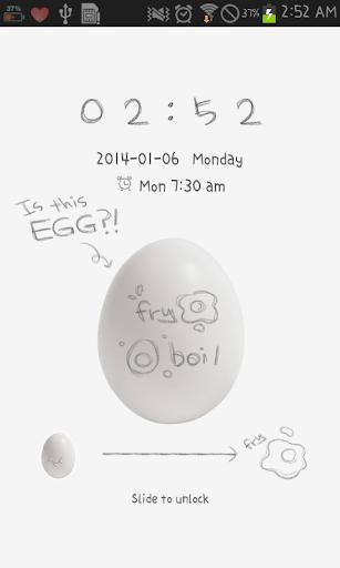 is this egg go locker theme