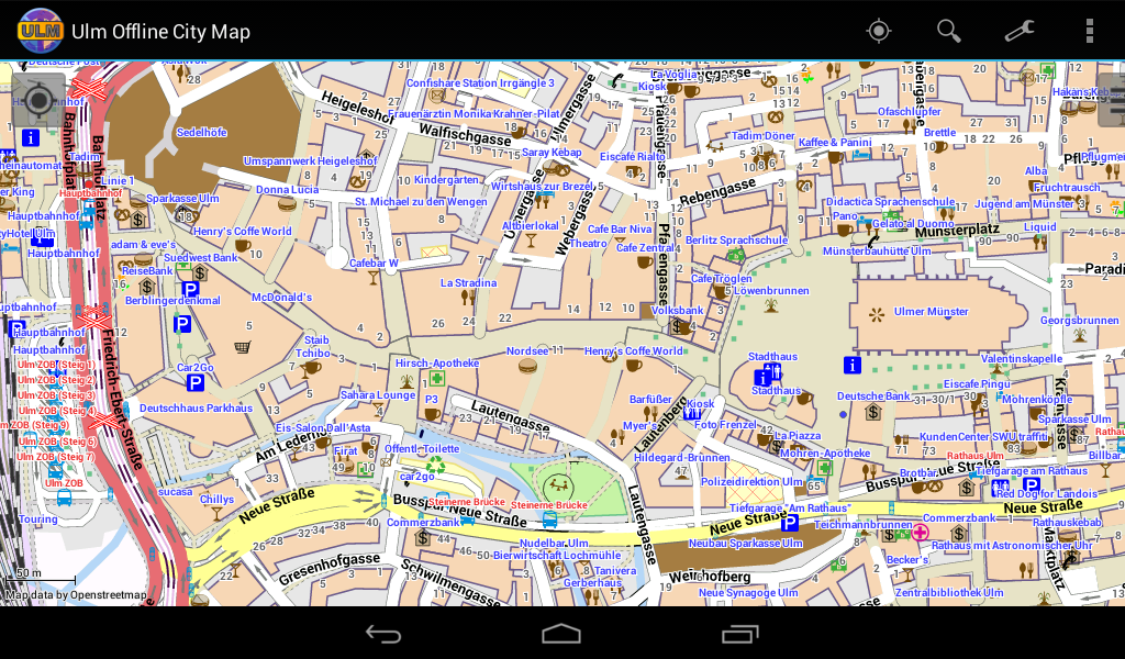 Ulm Offline City Map Android Apps on Google Play