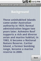Ashmore/Cartier Islands Facts