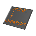 Words With Cheaters icon