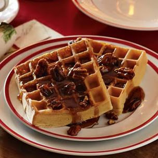 Spiced Brown Sugar Waffles