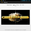 Better GPS fix icon
