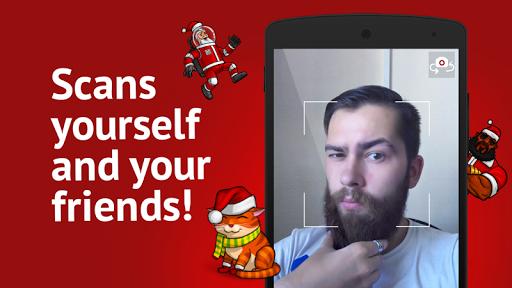脸部扫描仪:什么圣诞老人