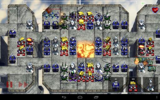 Robo Defense FREE Jeux (apk) téléchargement gratuit pour Android/PC/Windows screenshot
