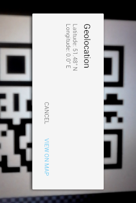 Obsqr QR Scanner - screenshot