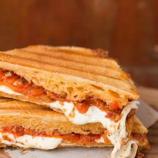 Sun-Dried Tomato Pesto and Mozzarella Paninis Recipe