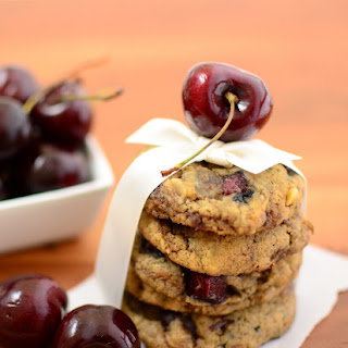 Cherry Chocolate-Chunk Cookies