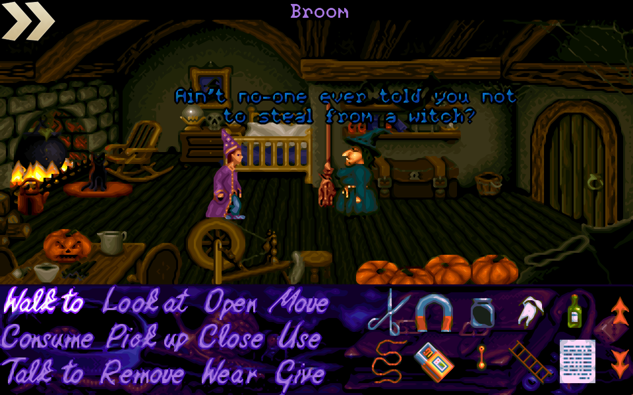 Simon the Sorcerer- screenshot