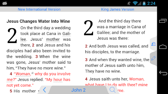 NLT Bible - screenshot thumbnail