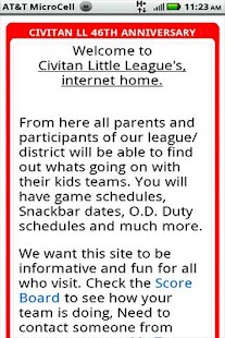 Civitan Little League - screenshot thumbnail