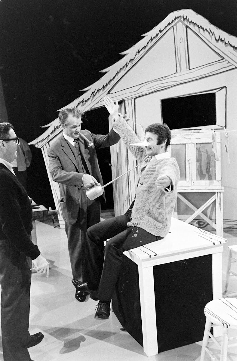 Red Skelton And Marcel Marceau