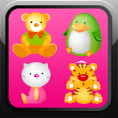 Memory game for kids - animals