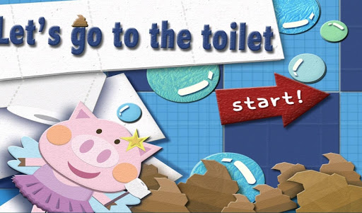 Let's Go Toilet education app
