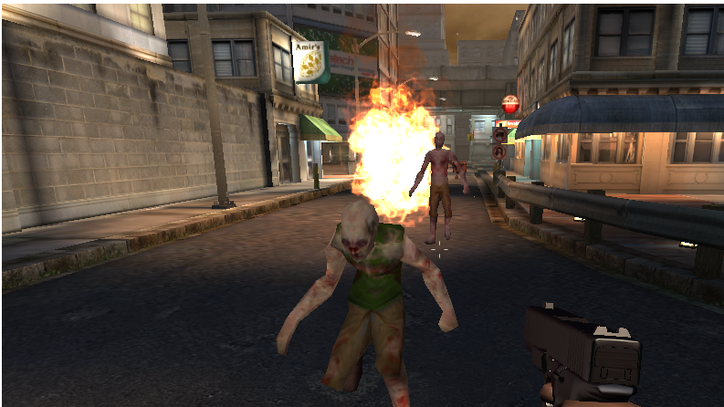 ! Zombie Shooter Bombard - screenshot