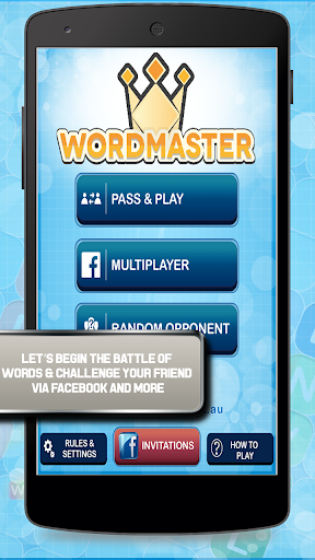 WORDMASTER - WORDBUSTER GAME