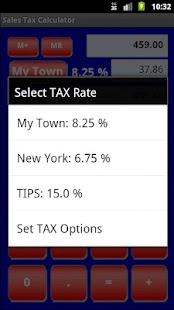 Sales Tax Discount Calculator- screenshot thumbnail