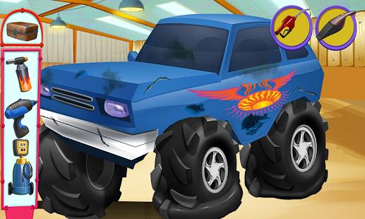 玩免費休閒APP|下載怪物卡车修理工 app不用錢|硬是要APP