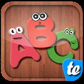 Smart kids puzzle alphabet