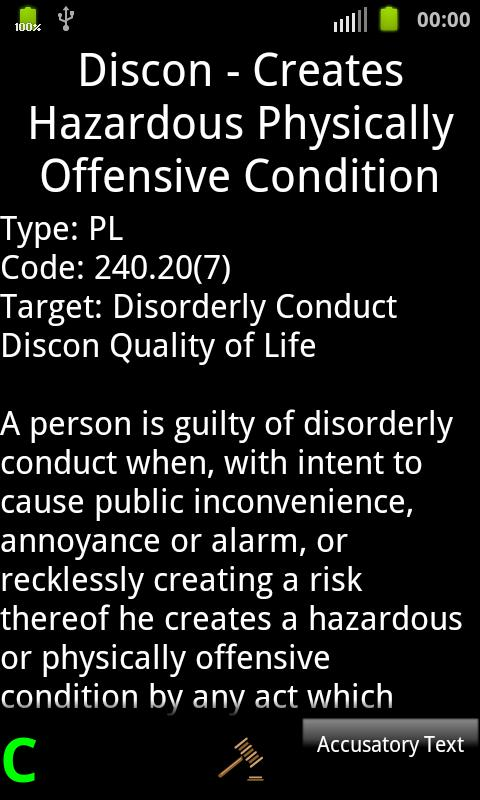 Common Summonsable Offenses- screenshot