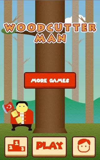 Wood Cutter Man