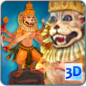 3D Narasimha Live Wallpaper