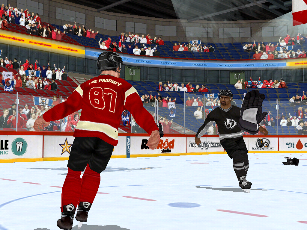 Hockey Fight Pro - screenshot