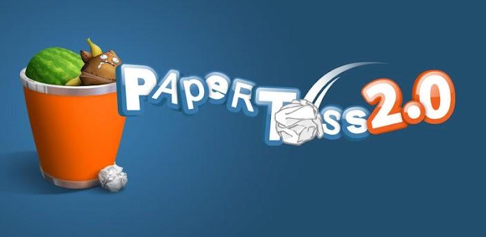 لعبة Paper Toss 2.0 المضحكة والمسلية جدا (رابط مباشر)