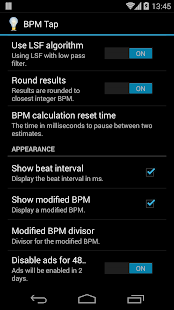 BPM Tap - screenshot thumbnail