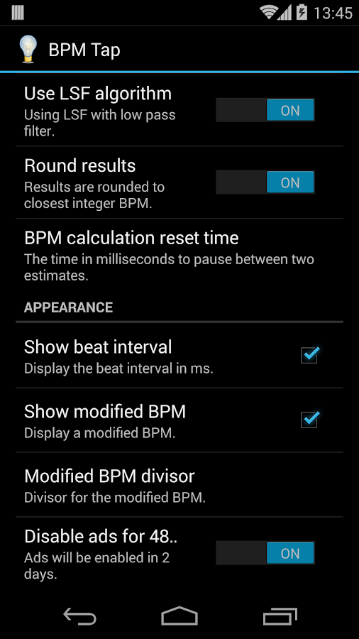 BPM Tap - screenshot