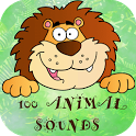 100 Animal Sounds Quiz icon