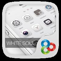 White Soul GO Launcher Theme v1.0