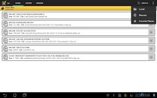 Screenshot of A+ VCE Player