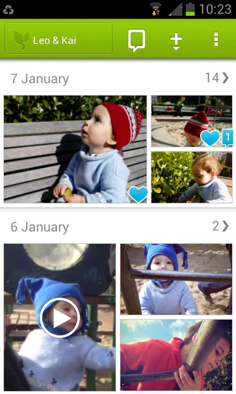 Lifecake - Baby Photo Journal - screenshot