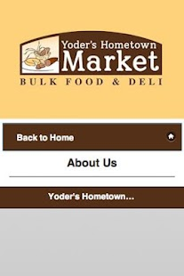 Free Yoders Hometown Market APK for Android