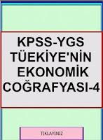 Screenshot of KPSS YGS COĞRAFYA TR EKO COĞ 4