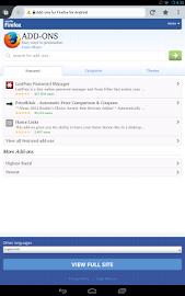 Firefox Beta Screenshot 3