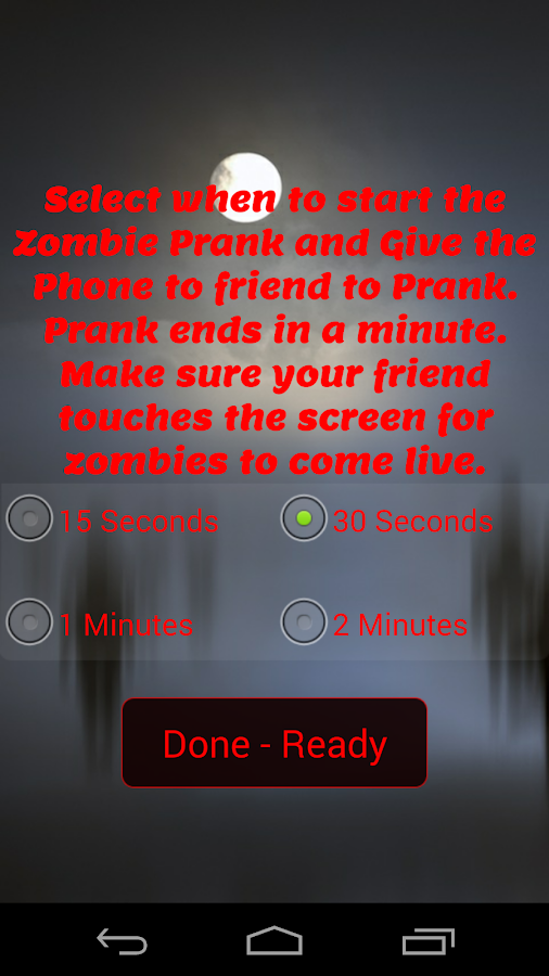Zombie Scare Prank - screenshot