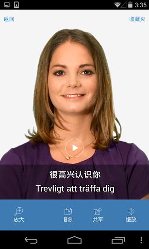 瑞典语词典——通过听说读写学瑞典语