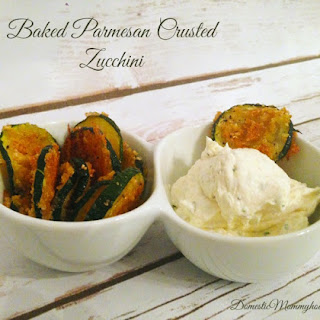 Baked Parmesan Crusted Zucchini