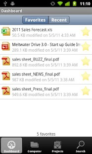 Meltwater Drive Backup - screenshot thumbnail