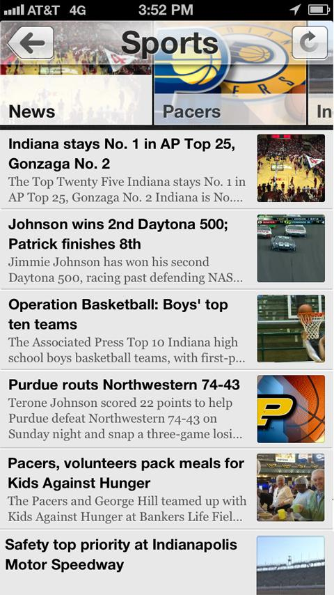 WTHR - screenshot