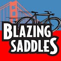 Blazing Saddles San Francisco logo