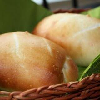 Pains au lait (French rolls).