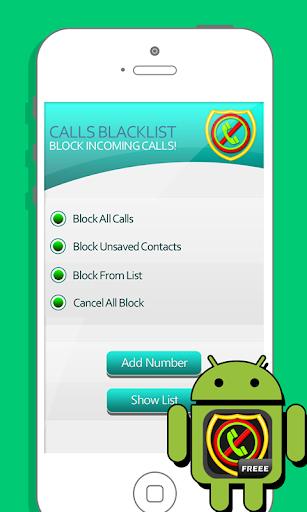 Call Blocker : Blacklist
