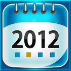 Calendar 2012 icon