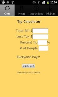 Ultimate Tip Calculator- screenshot thumbnail
