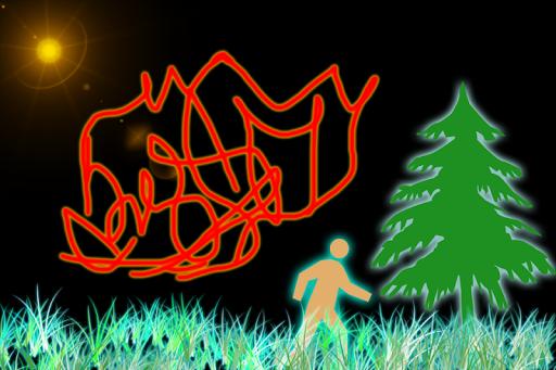 Draw Glow Paint Signature